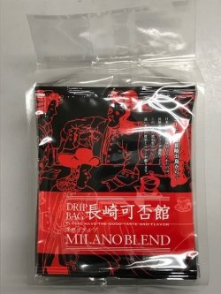 画像1: 【新発売】 長崎可否館ドリップバッグミラノブレンド8g×8袋